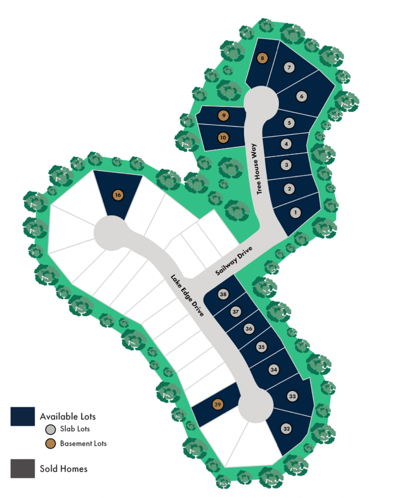 Sterling On The Lake Site Map