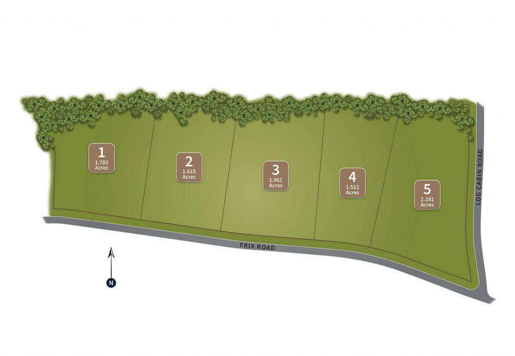 Frix Road Site Map
