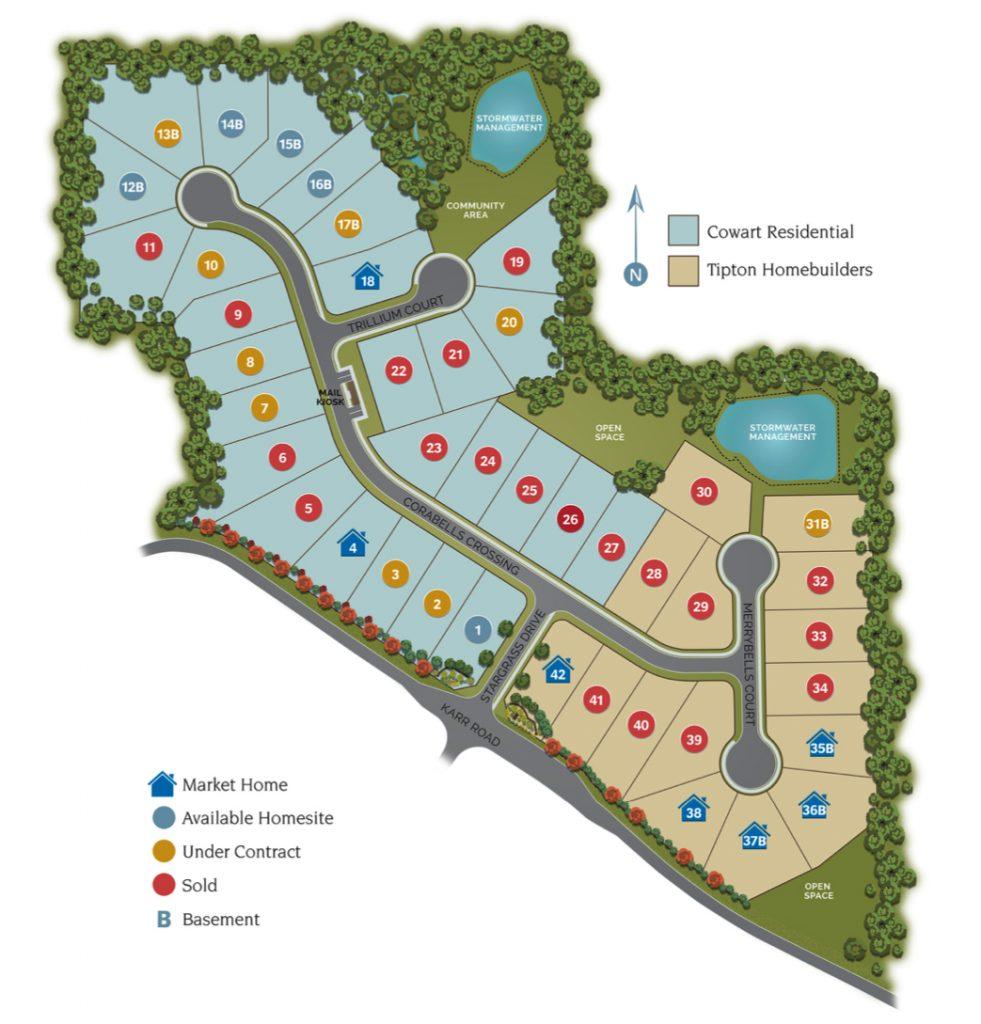 Westfield Site Map